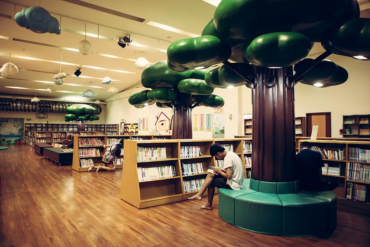 新北市圖書館土城親子分館