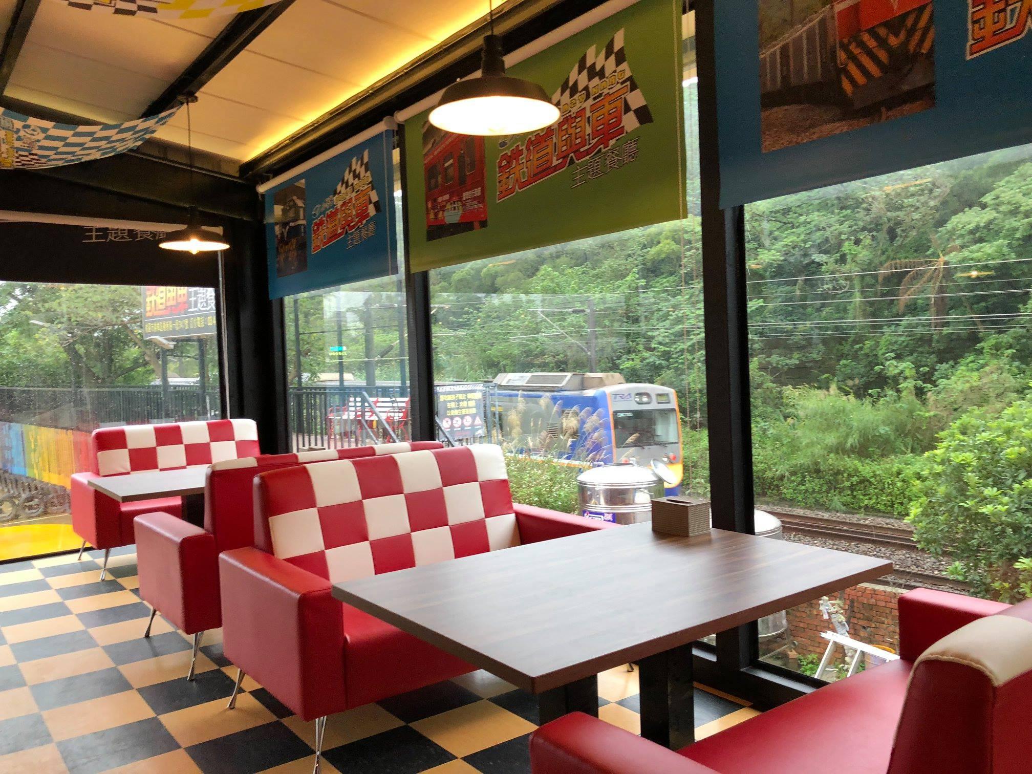 鐵道與車主題餐廳-桃園親子餐廳