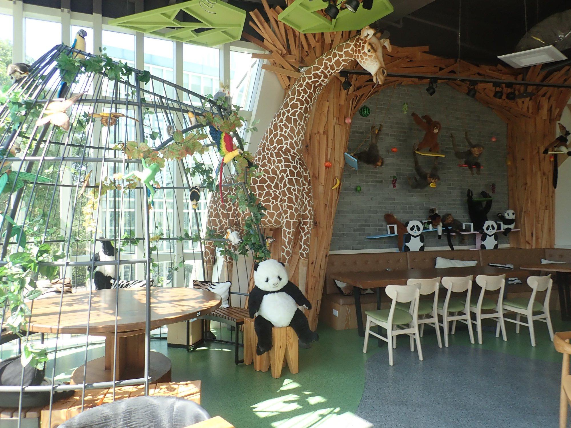 石尚貓熊餐廳-台北市立動物園親子餐廳