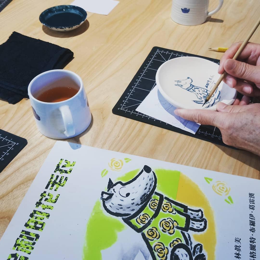 雀榕咖啡-三星四季青花瓷-小時家民宿-宜蘭親子餐廳