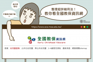 幼兒園資訊百科大全,爸媽必學的全國教保資訊網使用方式