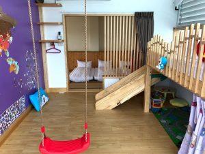 戶外大空間親子民宿:溜滑梯+大草皮玩到不想回家!